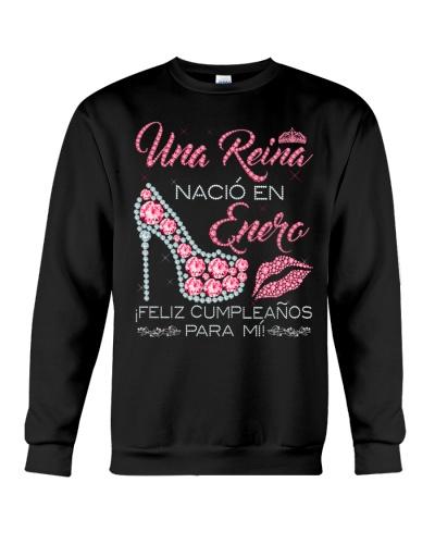 Camisetas sublimadas mujer para reinas de Enero
