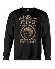 H- JULY 24 Crewneck Sweatshirt thumbnail