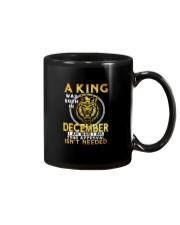 H- DECEMBER KING Mug thumbnail