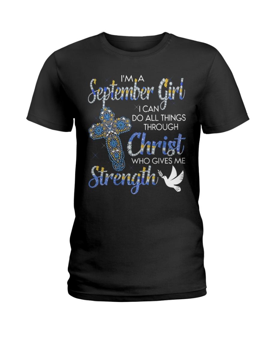 H- September Girl Ladies T-Shirt