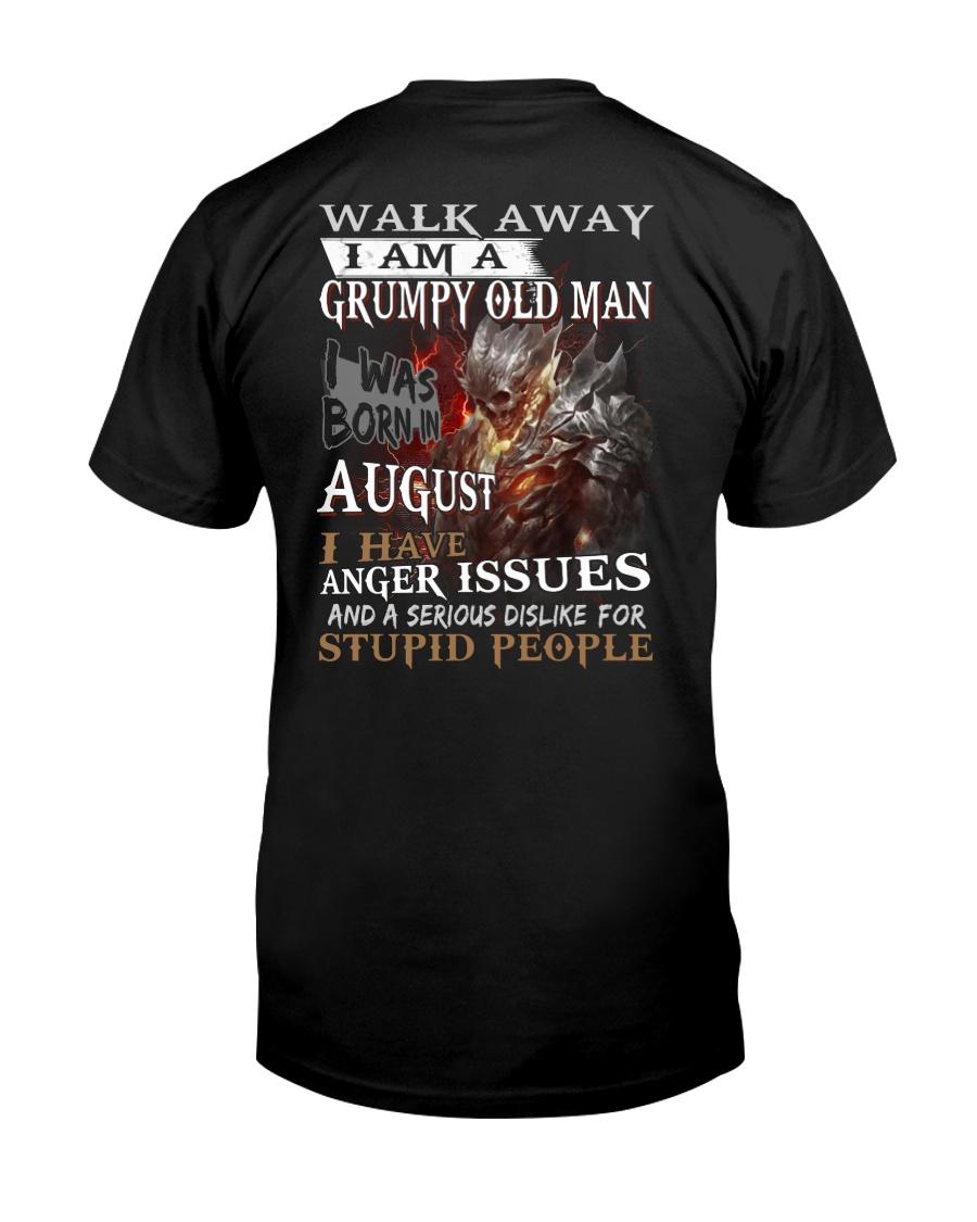 Grumpy old  man printing graphic tees shirt design Classic T-Shirt