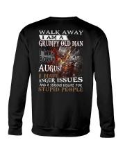 Grumpy old  man printing graphic tees shirt design Crewneck Sweatshirt thumbnail
