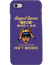 August Queen Who I am Phone Case thumbnail