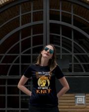 BROKE KNIT Ladies T-Shirt lifestyle-women-crewneck-front-1