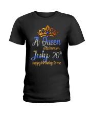 JULY QUEEN Ladies T-Shirt front