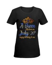 JULY QUEEN Ladies T-Shirt women-premium-crewneck-shirt-front
