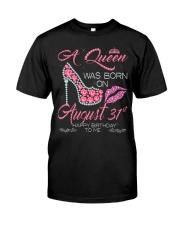 AUGUST 31 Classic T-Shirt thumbnail