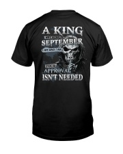 H- SEPTEMBER MAN Classic T-Shirt back