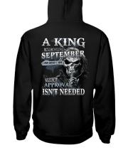 H- SEPTEMBER MAN Hooded Sweatshirt thumbnail