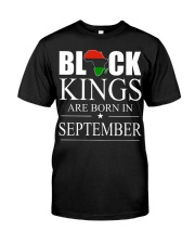 SEPTEMBER KING Classic T-Shirt front