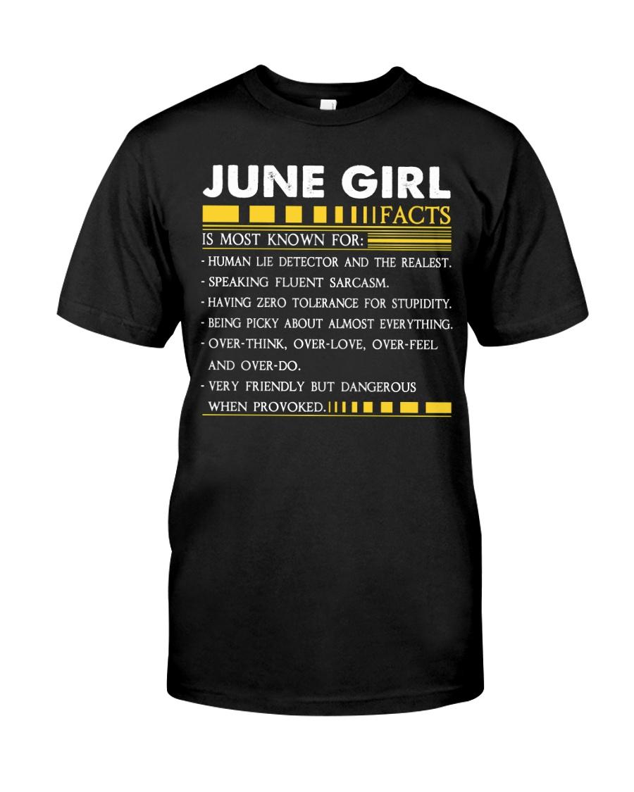H- JUNE GIRL Classic T-Shirt