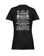 RUNNER 5K Ladies T-Shirt women-premium-crewneck-shirt-back