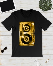 Turntable cassette - Gold version Classic T-Shirt lifestyle-mens-crewneck-front-17