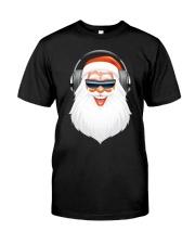 Santa DJ Classic T-Shirt front