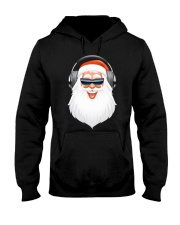 Santa DJ Hooded Sweatshirt thumbnail