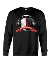 Digital VS Vinyl - For DJ Crewneck Sweatshirt thumbnail