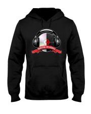 Digital VS Vinyl - For DJ Hooded Sweatshirt thumbnail