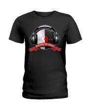 Digital VS Vinyl - For DJ Ladies T-Shirt thumbnail