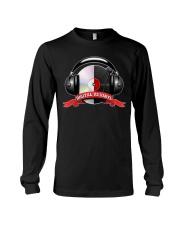 Digital VS Vinyl - For DJ Long Sleeve Tee thumbnail