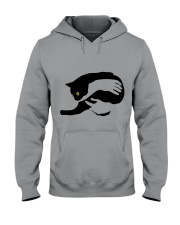 Keep your cats in your arms Hooded Sweatshirt tile