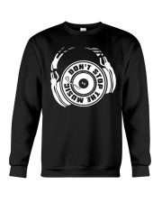 Don't Stop The Music Crewneck Sweatshirt thumbnail