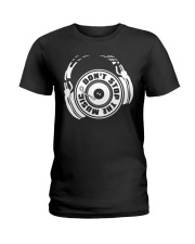 Don't Stop The Music Ladies T-Shirt thumbnail
