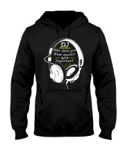 DJ who show you new music are important Hooded Sweatshirt thumbnail