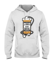 La Musica es mi Medicina Hooded Sweatshirt thumbnail