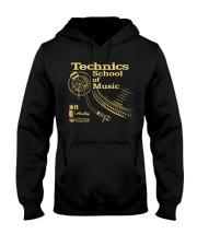 Music Gold Hooded Sweatshirt thumbnail