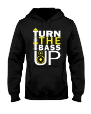 Turn the bass up Hooded Sweatshirt thumbnail