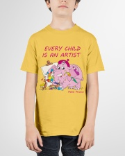 Baby-Elephant-Cartoon - Every Child Is An Artist Youth T-Shirt garment-youth-tshirt-front-01