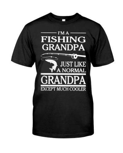 GRANDFATHER IM A FISHING GRANDPA JUST LIKE A NORMA