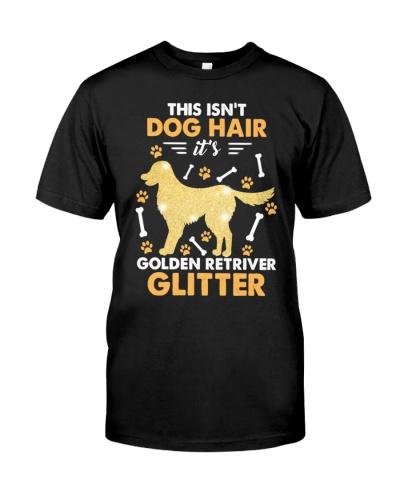 CUTE ISNT DOG HAIR GOLDEN RETRIEVER SHIRT