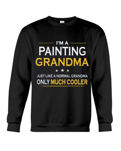 CUTE PAINTING GRANDMA ONLY MUCH COOLER GIFT