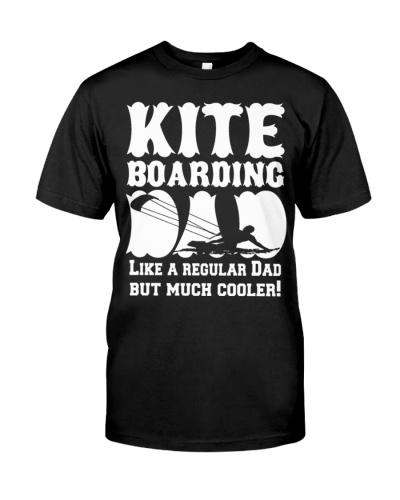 CUTE KITE BOARDING LIKE A REGULAR DAD