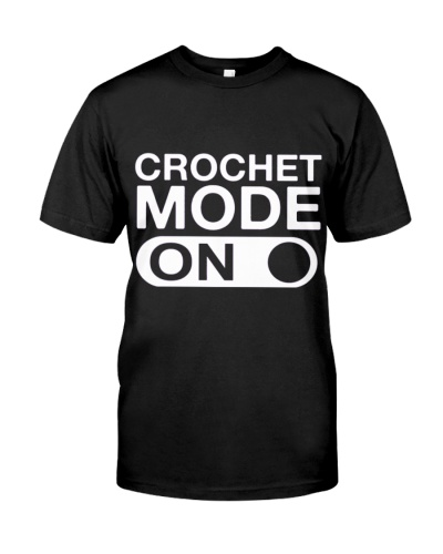CUTE CROCHET MODE ON BEST FUNNY GIFT