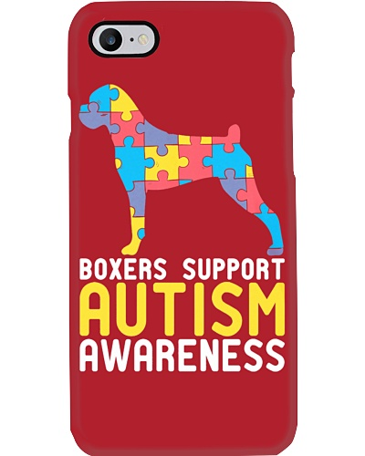 BOXERS SUPPORT AUTISM AWARENESS