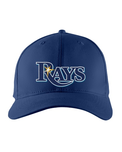 Tampa Bay Rays Logo Embroidered Hat
