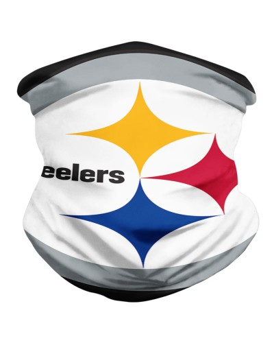 Pittsburgh Steelers Logo Neck Gaiter