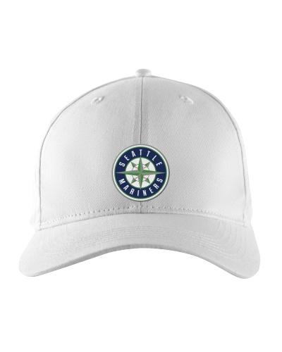 Seattle Mariners Logo Embroidered Hat