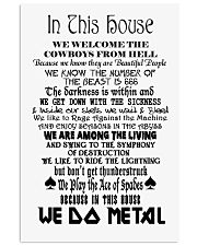 We Do Metal Poster 24x36 Poster front