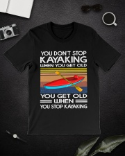 You Don't Stop Kayaking When You get old Classic T-Shirt lifestyle-mens-crewneck-front-16