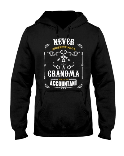 power grandma  accountant shirt