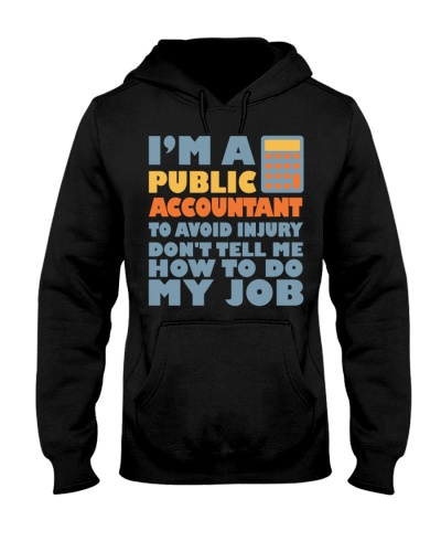 i am a public accountant shirt