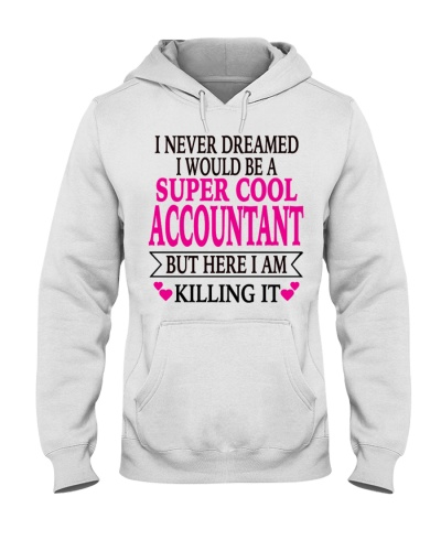 super cool accountant tshirt