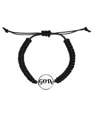 GODi Cord Circle Bracelet front