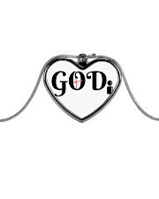 GODi Metallic Heart Necklace thumbnail