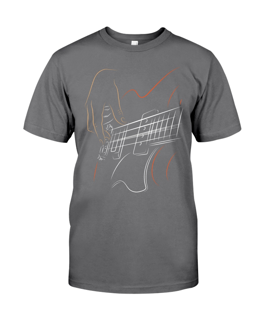 Guitar Play  Premium Fit Mens Tee
