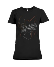 Guitar Play  Premium Fit Ladies Tee thumbnail