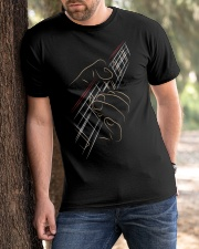 Guita Playing Bass Classic T-Shirt apparel-classic-tshirt-lifestyle-front-51
